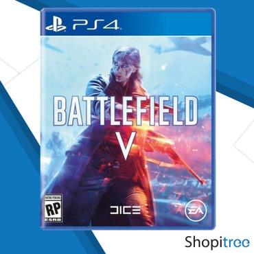 Bakı şəhərində Ps4 üçün Battlefield 5 oyunu tam bağlı upokovkada orginal