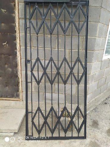 Дверь Решотка калитка для магазинов офисов размеры 201*91