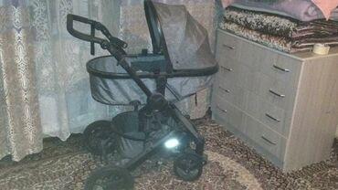 Детский мир - Кыргызстан: Продаю коляску почти новая 3в 1, имеется люлька, в отличном состоянии