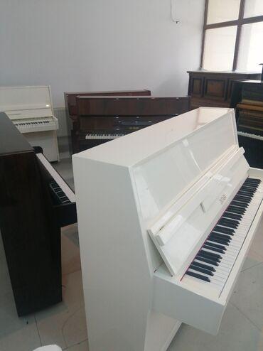 Pianino zəmanətlə mütəxəssiz satır