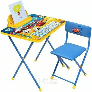 мягкая мебель бу из европы в Кыргызстан: Ника: Набор мебели Маленькая принцесса стол +мягкий стул от 3 до 7