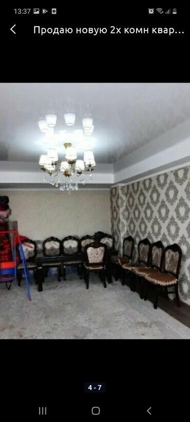 стол с табуретками in Кыргызстан   КОМПЛЕКТЫ СТОЛОВ И СТУЛЬЕВ: Стол и 10 стульев 3метра длина стол новый состояние отличное цена за в