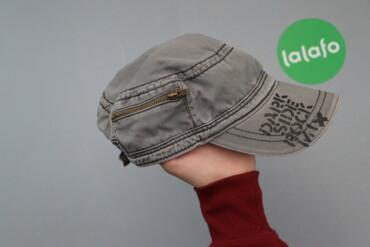 Чоловіча кепка з блискавкою    Довжина: 16 см Ширина: 25 см Деталі: ши