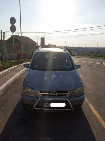 Opel | Srbija: Opel Zafira 1.6 l. 2004 | 318612 km