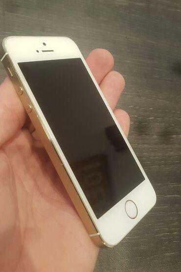 phone - Azərbaycan: İşlənmiş iPhone 5s 16 GB Qızılı