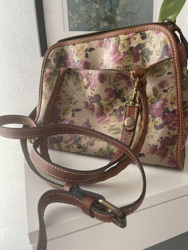 Дамская кожаная сумка американского качества в отличном состоянии