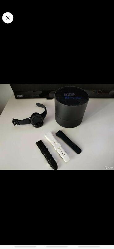 samsung gear s3 в Кыргызстан: Смарт часы самсунг gear s3 комплект +2 ремешки все документы имеются