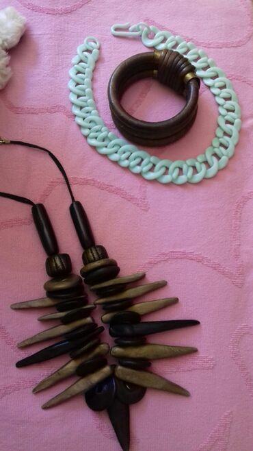 Ogrlica 1.2., narukvica kozna