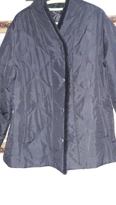 женская куртка осень весна в Кыргызстан: Продаю женскую стеганную куртку. производство турция. состояние