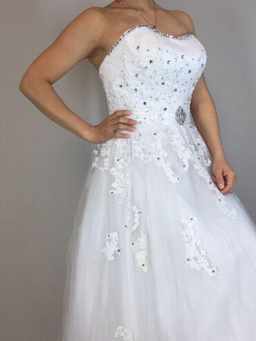 свадебные платья хиджаб в Кыргызстан: Продаётся свадебное платье    Камни SWAROVSKI AG сделано на заказ