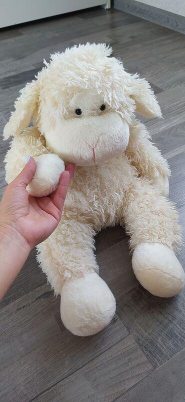 Детский мир - Таш-Мойнок: Мягкая игрушка барашек состояние отличное