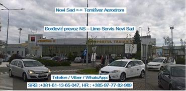 Novi Sad  Aerodrom Temišvar  Novi Sad taxi prevoz transfer - Novi Sad