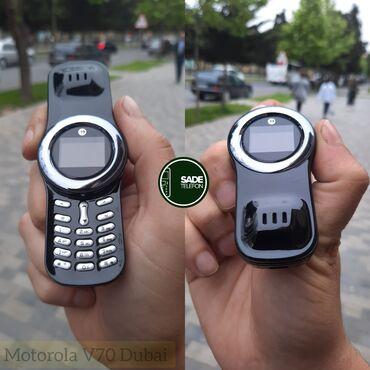 Motorola - Azərbaycan: Motorola Aura V70KamerasızDuosMiniMağaza SatışıYeni və Bağlı QutudaTam