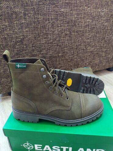 Продам кожаные ботинки Фирмы Eastland. Заказывал с США для себя