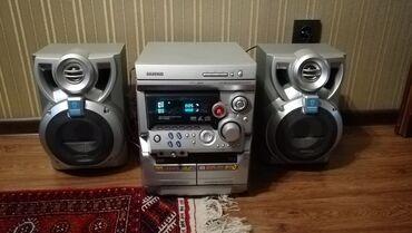 музыкальные центры в Кыргызстан: Музыкальный центр Samsung. В очень хорошем состоянии. Кассеты, диски