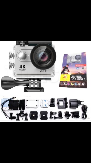 Bakı şəhərində Aksion sport kamera 4 k ultra HD su alti çəkilis ucun su kecirmeyen