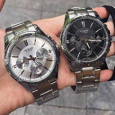 часы дешок в Кыргызстан: Серебристые Мужские Наручные часы Casio