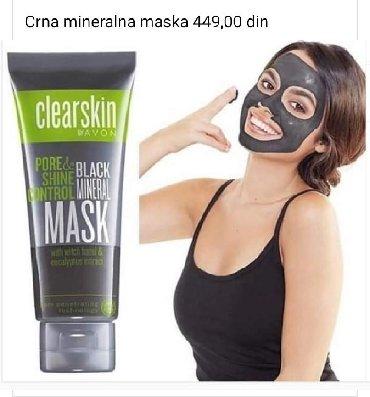 Crna-maska - Srbija: CRNA MINERALNA MASKA