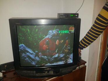 schetnaja mashinka magner 75 в Кыргызстан: Продаю телевизор с ресивиром без пульта рабочий