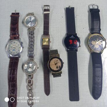 Кварцевые часы разного бренда б/у рабочие из них один японского