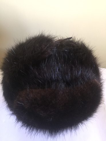Мужская шапка-ушанка из бобра. в Бишкек