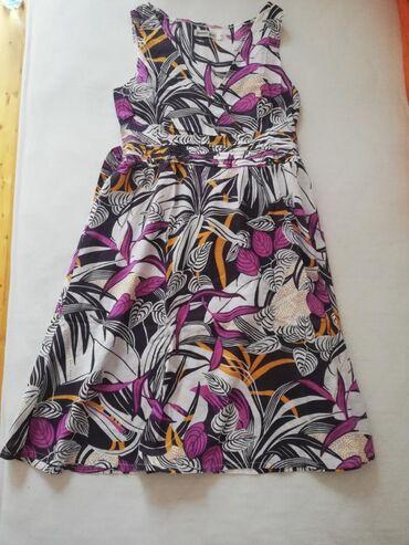 Haljine - Sremska Kamenica: Prodajem haljinu u S velicini. 100 %pamuk. Duzina 93cm,poluobim ispod