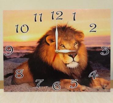 Ostalo | Smederevska Palanka: Zidni sat radjen dekupaz tehnikom,precnik 28 cm. Izradjujemo satove po