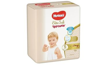 huggies elite soft в Кыргызстан: Трусики Huggies Elite Soft #5, 12-17кг, 19шт