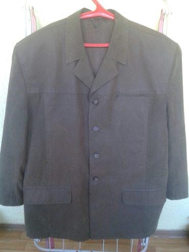 Куртка турецкая в отличном состоянии цвета хаки 56-58 размер в Бишкек