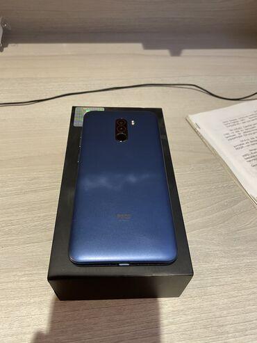 телефон fly bl9205 в Азербайджан: Б/у Xiaomi PocoPhone F1 128 ГБ Синий