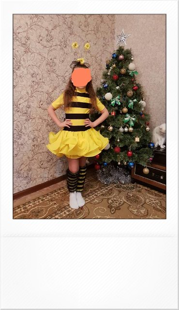 Кастюм пчелки на 8-9лет сшитый на заказ в Кант