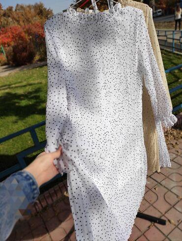 РАСПРОДАЖА!  Шифоновые платья по 1000-%=500! Только в белом цвете! Ста
