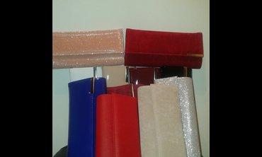 Od skaja - Srbija: Nove pismo torbice od plisa, laka, skaja