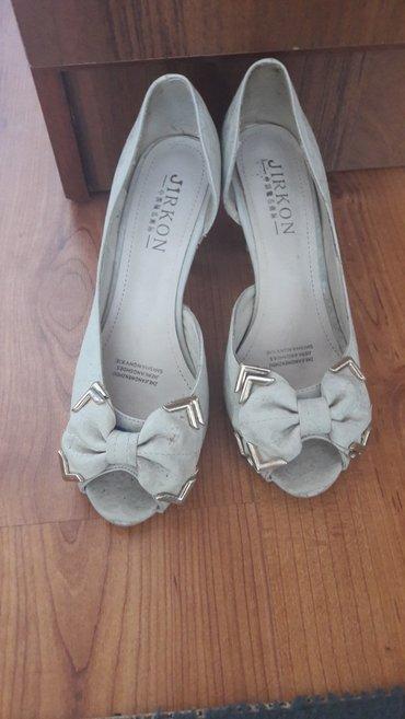 Туфли. бежевые. 36 размер в Бишкек