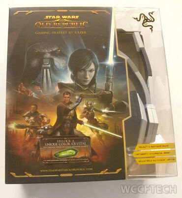Special Edition Star Wars: The Old Republic Gaming Headset by Razer;