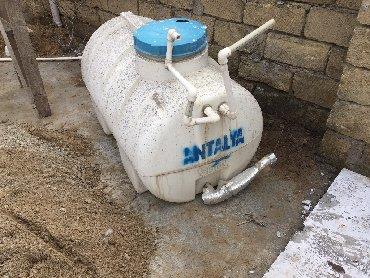 Бак для нагрева воды - Азербайджан: Su çeni