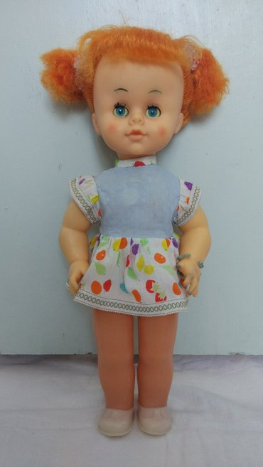 Кукла 90-х годов. Сделано в Италии. Макияж родной. Голова, руки и ноги в Каракол