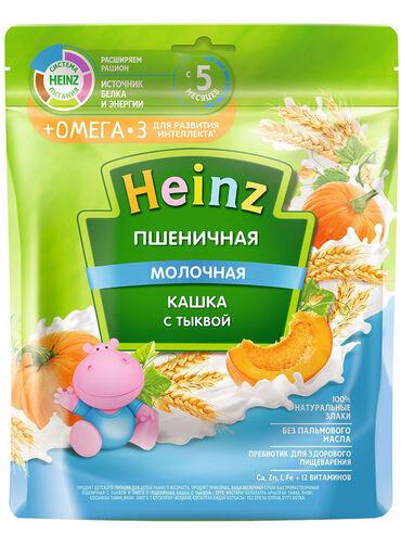 акита ину хатико в Кыргызстан: Heinz / Каша молочная пшеничная с тыквой с Омега 3.Состав:лимонная