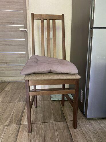 Продаю новые стулья . 4 шт . Состояние -новые !!! Плюс подарок подушки