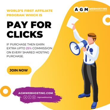 Join AGM Affiliate Program - Drive traffic from your website / mobile
