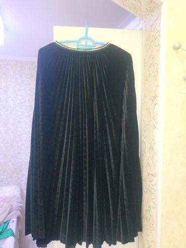 Плиссированная юбка в пол. Новая! Размер стандартный