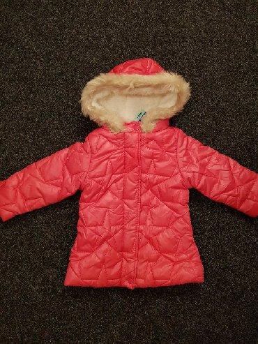 Zimske-kape-o - Srbija: Snizena na 1600Zimska jakna za devojčice Br. 92 (18-24)Br. 98 (24-36)