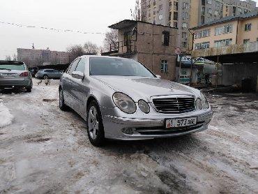 Mercedes-Benz в Кыргызстан: Mercedes-Benz E-Class 4 л. 2004