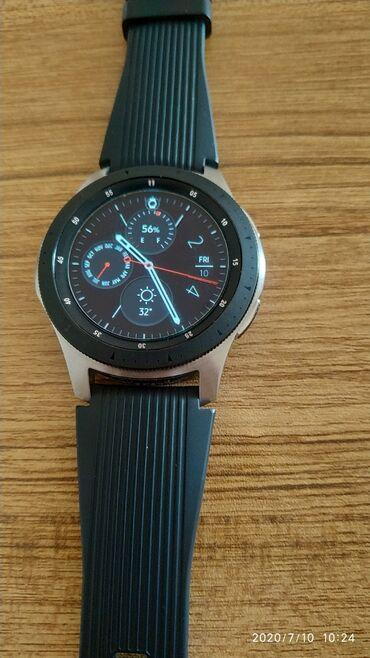 SAMSUNG Galaxy watch 46mm 2 ayin saatidir, ideal veziyyetdedir, karobk