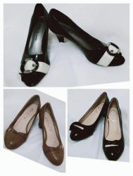 туфли-черные-женские в Кыргызстан: Женские туфли Турция, размер 36-37, каблук устойчивый, очень удобный