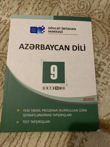 9cu sinif azərbaycan dili sinif testi yazısı cırığı yoxdur yeni kimidi