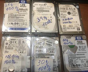 diskler - Azərbaycan: Noutbuk uchun 2.5 HARD DISKLERNoutbuk ucun Yeni ve istifadede olmush