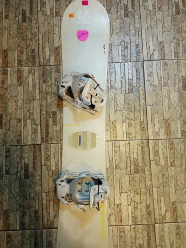 Сноуборды б.у в отличном состоянии в комплекте с ботинками (150-157) в Бишкек