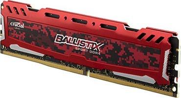 Bakı şəhərində Ram 8gb DDR4 Ballistix Sport Gaming Memory