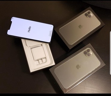 I Phone 11 PRO MAX 256GB. Face Time, Color:  Midnight Green USA в Бишкек